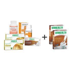 Nutrasetika Pack 4-Diabetic Pack (Free 2  Susu Glu
