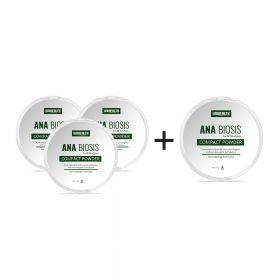 ANABIOSIS Compact Powder (Beli 3 Gratis 1)