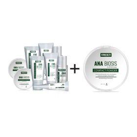ANA BIOSIS  Set (1 Get 1)+Medicated Compact Powder